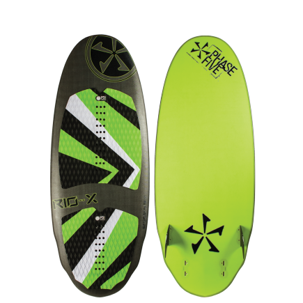 2016 Phase Five RIO-X SURF Wakesurf Board